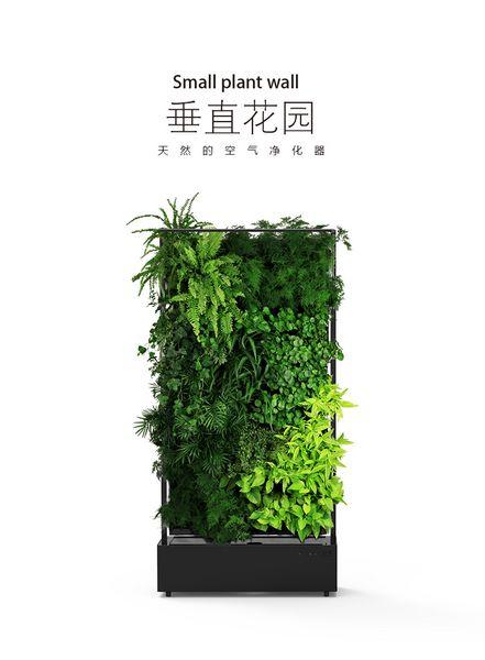 室内花园植物墙垂直花园家居装饰艺术品绿植 空气净化 植物绿植生态装置植物装置绿化生态墙绿墙