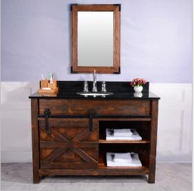 木制浴室柜