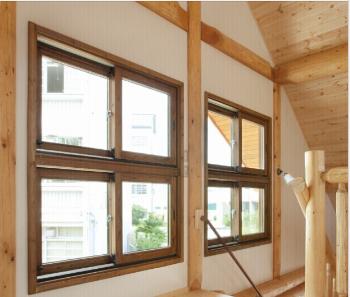 越秀木-高级实木窗