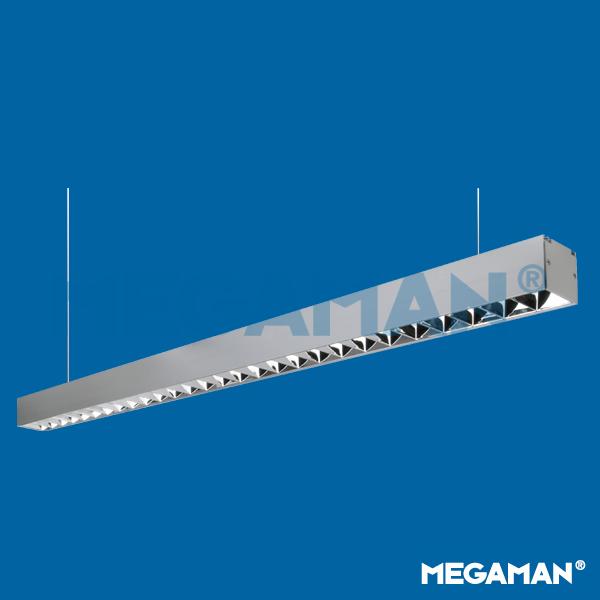 新一代线性铝材LED格栅灯