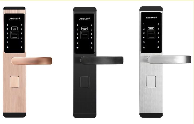 小家丁智能锁公寓防盗门智能密码锁电子门锁智能门锁