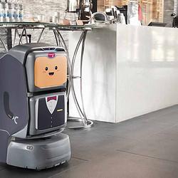 楼宇递送机器人