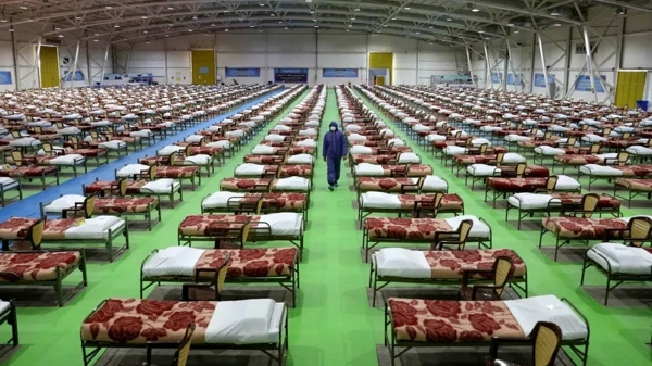 改成方艙醫院的全球最大購物中心長啥樣?探秘伊朗商城Iran Mall
