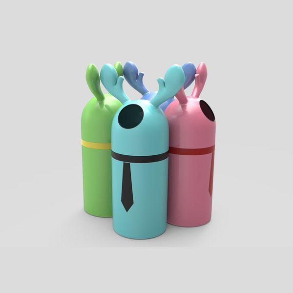 麋鹿垃圾桶