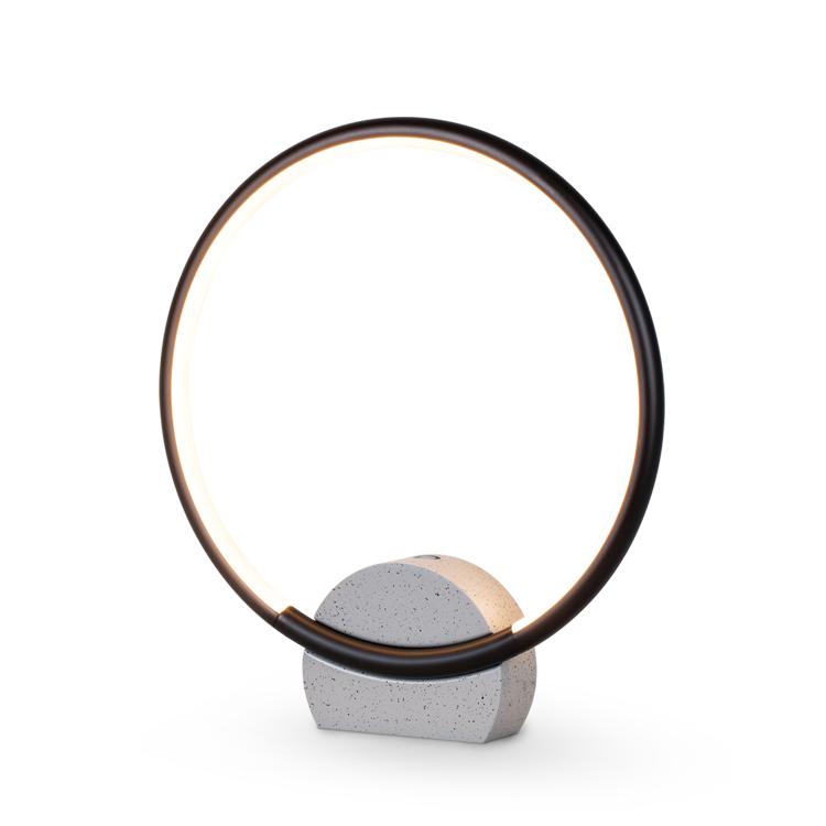 简约线条型圆环台灯