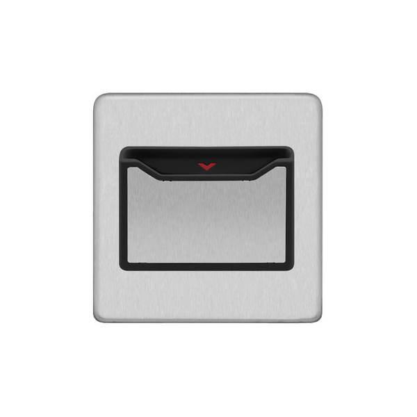 Screwless Flat Profile 32A Key Card Switch