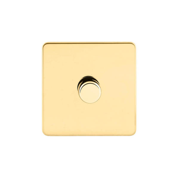 Screwless Flat Profile Universal LED 1G 2 Way 200W Dimmer Switch