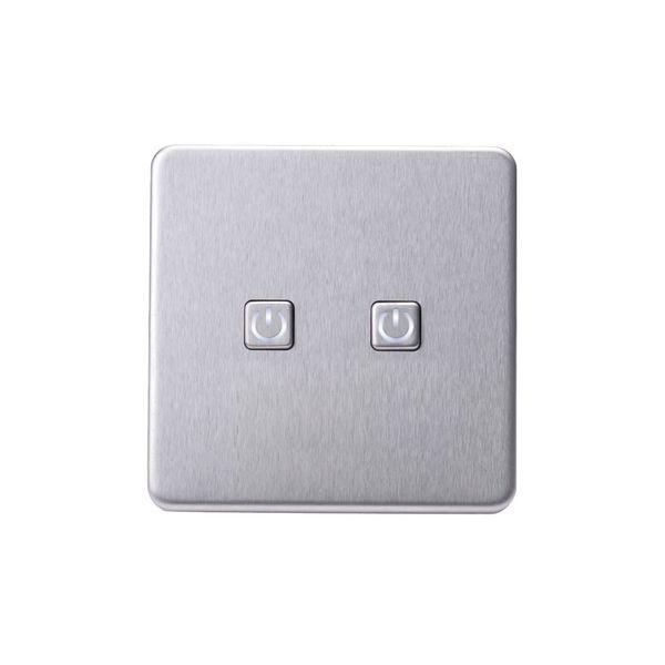 Screwless Flat Profile 2G Smart Switch