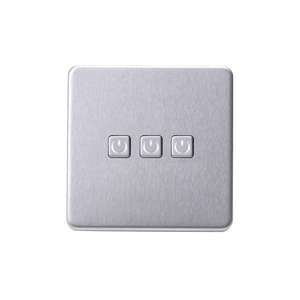 Screwless Flat Profile 3G Smart Switch