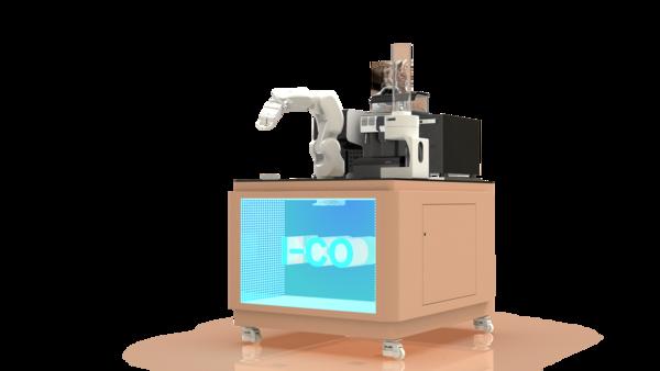二代咖啡机器人
