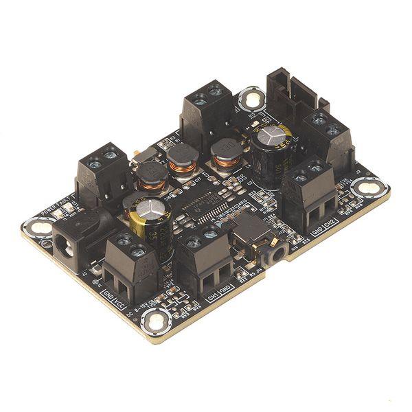 2 x 8W D类音频功率放大器,支持单端与差分输入