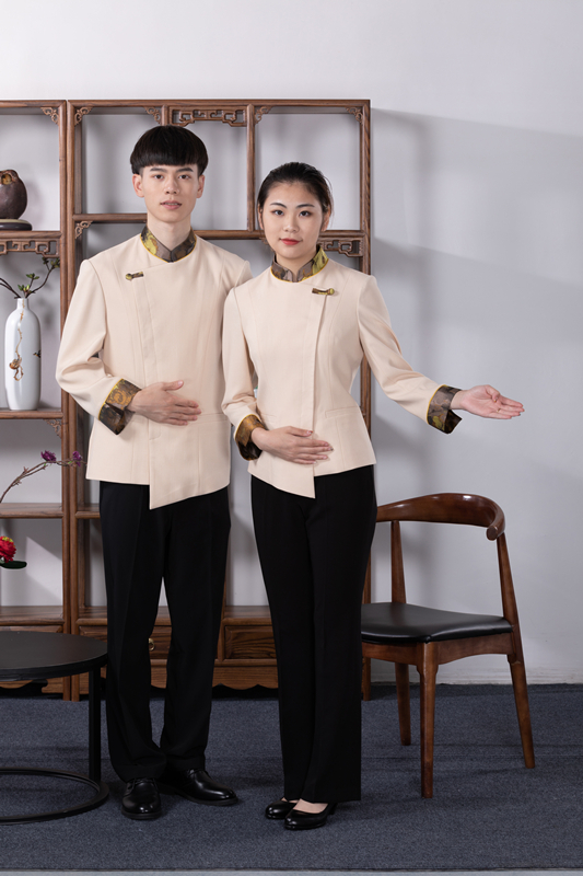 中餐服务员制服