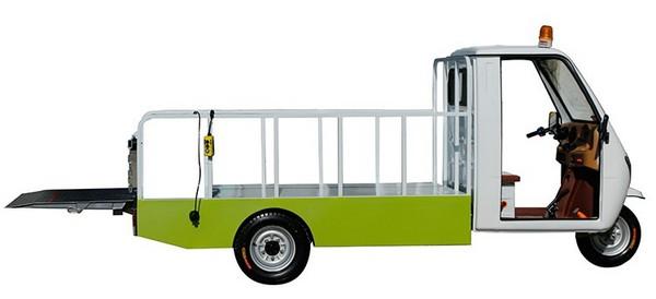 电动三轮桶装垃圾车