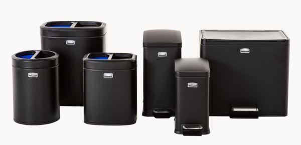 小型金属垃圾桶系列