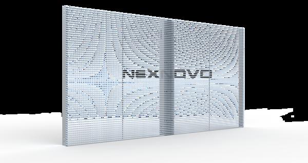 NJ 橱窗小间距透明屏