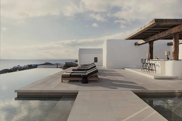 """宁静古朴的""""村庄""""之美!这座建在岛屿上的酒店结合了传统与现代主义"""