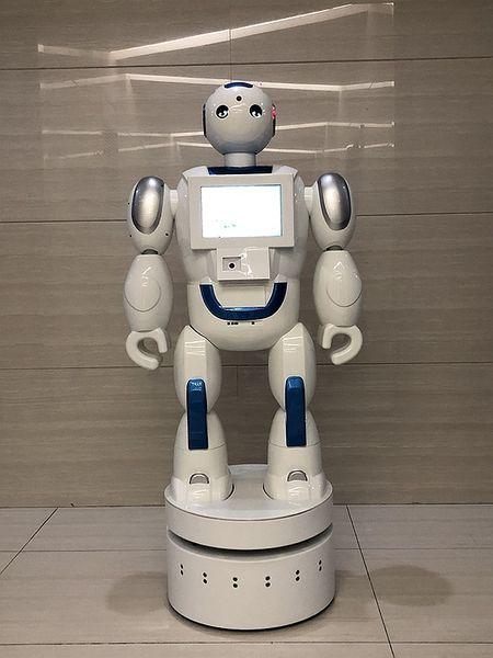 永力小福服务机器人