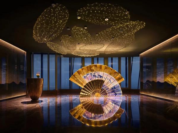 """重磅!身处""""云端""""的上海中心J酒店今日开业!"""
