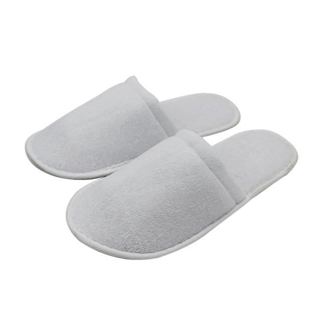 客栈会所酒店客房用品拉毛绒拖鞋全包舒适支持定制一次性拖鞋