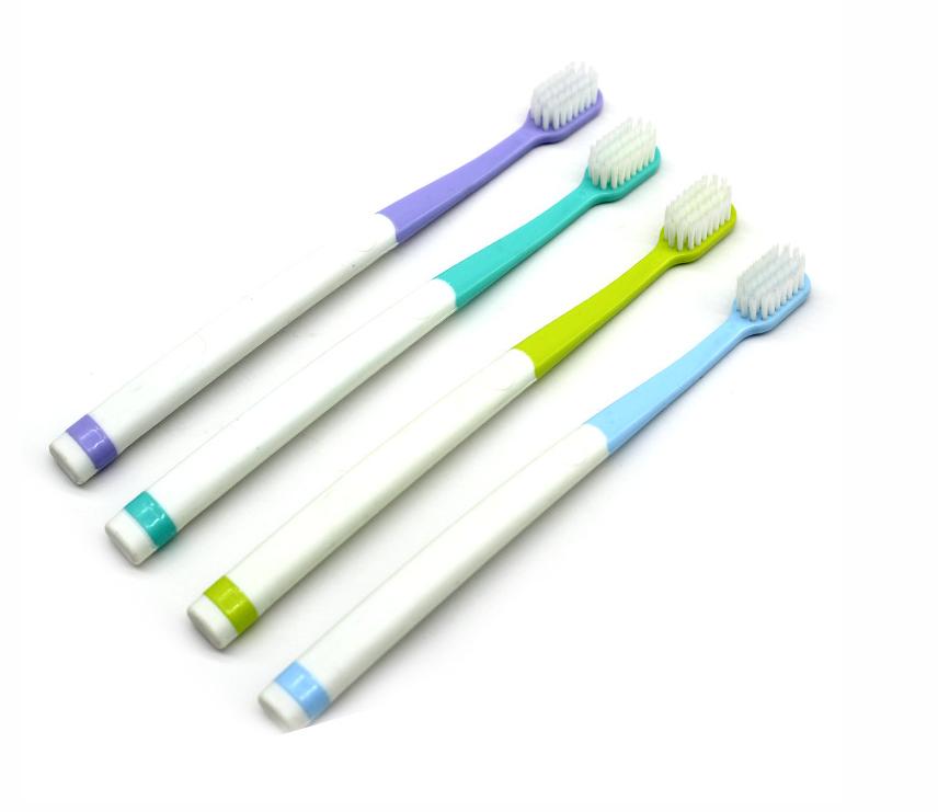 牙刷颜色可定制软毛简洁风儿童成人清洁舒适批发酒店家用