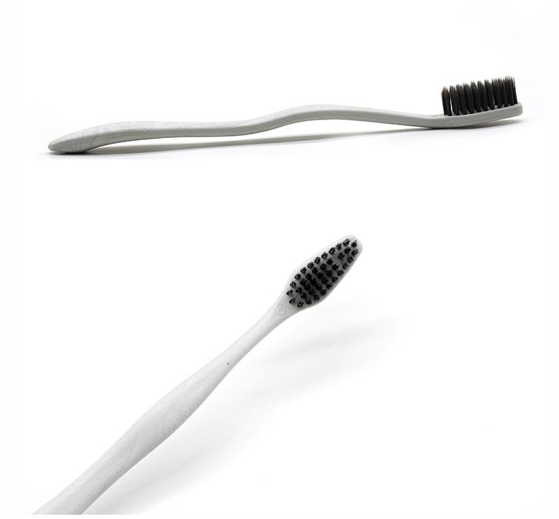 工厂批发PLA可降解护龈细软成人清洁牙齿口腔清洁牙刷