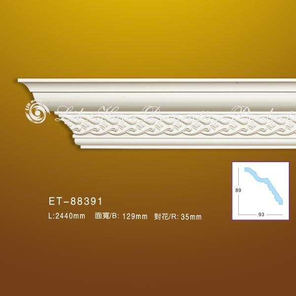 立壕装饰-精选雕花角线板