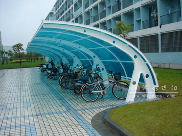 耐力板自行车棚